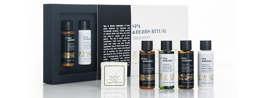 Luxury gift set SPA&HERBS